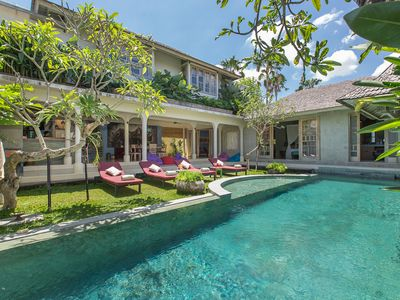 Photo for Central 3 BR villa in heart of Seminyak