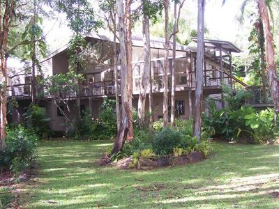 Photo for Noosa tall gums, absolute lakeside, dramatic home