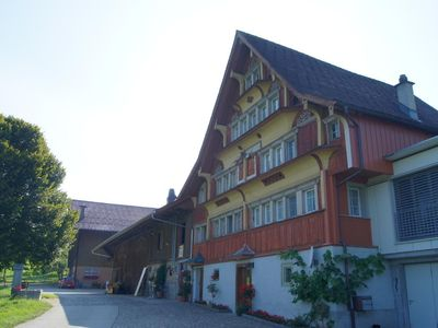 Photo for Apartment Lütisburg Station for 1 - 5 people with 3 bedrooms - Apartment in farmhouse