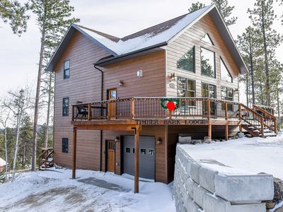 Photo for Timber Bark Lodge 4BR Nestled in the Hilltop Pines with Private Hot Tub