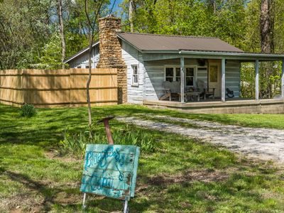 Photo for Bluegrass Log Vacation Cabin