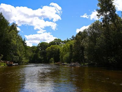 Photo for New Rental!  The Heron House - Beautiful Ausable River Chalet