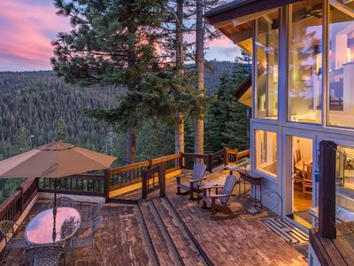 Photo for Luxury 4BR All-Suite Retreat w/ Sauna - Stunning Lake & Mountain Views
