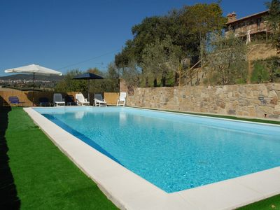 Photo for Holiday house with fireplace and outdoor swimming pool