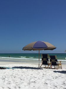 Photo for Beautiful updated private beach condo on 30A with walkability to everything!!!