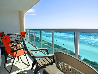 Photo for Spectacular oceanfront 3BR/2BA condo in one of the best properties in NMB
