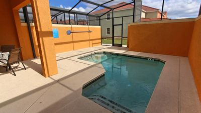 Photo for Great 4 bedroom townhome with private plunge pool in the Paradise palms resort
