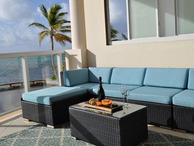 Photo for Superior Ocean Front 1 BR/1.5 BA unit in Belize's Resort of the Year