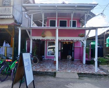 Photo for Spacious and Colorful 1 bedroom apartment on Bocas Main Street