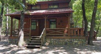Photo for Beavers Hideaway: Sleeps 6, Hot Tub, Pet Friendly, Fireplace