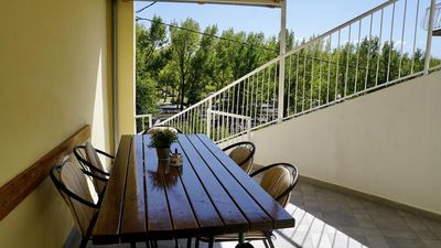 Photo for One bedroom apartment with terrace Omiš (A-2760-a)