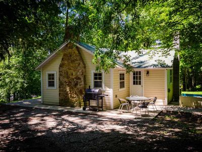 Photo for OVR's Place in the Pines! Cozy luxury cabin next to Fallingwater! Hot tub!
