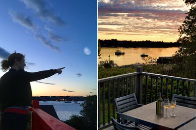 Wine and dine, grill fresh seafood on the deck, star gaze on a summer's eve.
