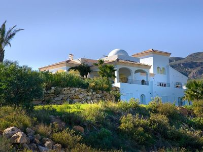 Photo for JUST ADDED Luxury villa with pool, gardens, spectacular sea and mountain views