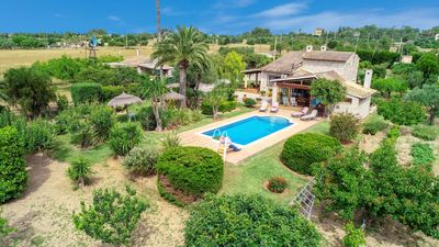 Photo for Well situated house in Santa Margarita with pool