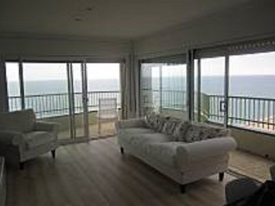Photo for Beautiful first sea line apartment with exceptional views