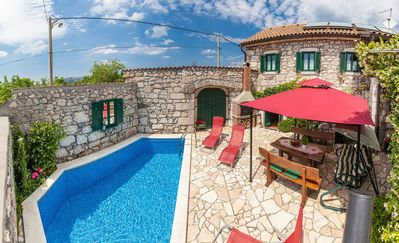 Photo for Holiday house with 2 bathrooms and pool
