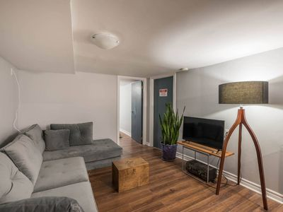 Photo for Leslieville Courtyard 1 Bedroom Apartment