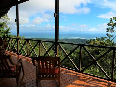 Photo for Brand New Pool home with incredible view of the Whales Tail, Uvita Costa Rica