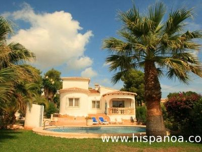 Photo for Beautiful air-conditioned villa with private pool in Javea - Costa Blanca Holidays