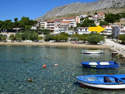 Photo for Apartment Niko 1  in Omiš, Central Dalmatia - 4 persons, 1 bedroom