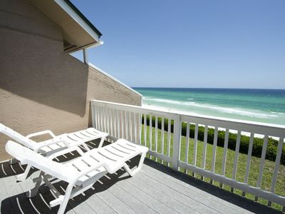Photo for Seacrest 6! Close to Rosemary/Alys Beach, Dog Friendly, Beach front with Amazing views!
