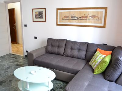Photo for Newly renovated three-room apartment between sea and city