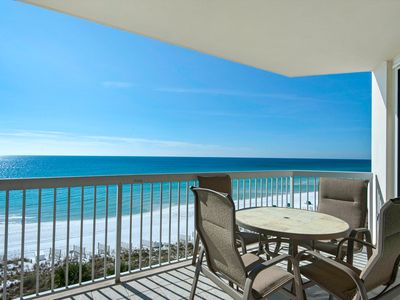 Photo for Beachfront Beauty with 4 Complimentary Beach Chairs