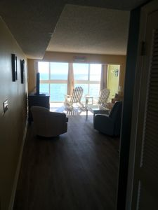 Photo for Edgewater West 84 — Oceanfront Condo steps from the beach!