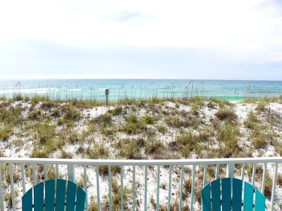 Photo for Amazing Gulf Front Townhome! Pet-Friendly & Close to Dog Beach