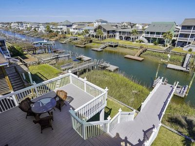 Photo for 16LAU - Canal Home with Private Dock - close to town center