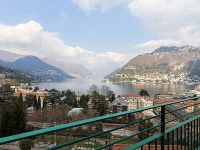 Photo for A very elegant studio apartment with stunning views in Lake Como.