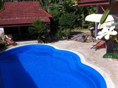 Photo for Villa private pool 4 to 8 people in tropical garden Ao Nang