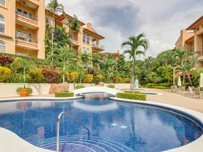 Photo for High-end condo in Los Suenos - close to golf,  beach club & marina