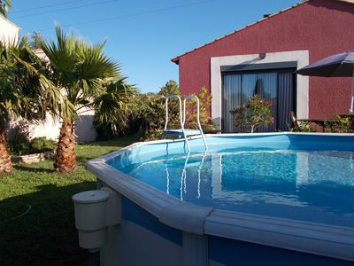 Photo for Villa with pool and private walled garden