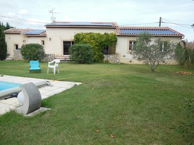 Photo for VILLA bright 10 minutes from AVIGNON (festival) PRIVATE POOL