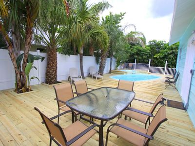 Photo for Cambria Clearwater Beach Rental ONLY STEPS TO THE BEACH