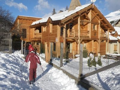 Photo for At Serre-Chevalier, the slopes Rentals Oree, prestigious Chalet