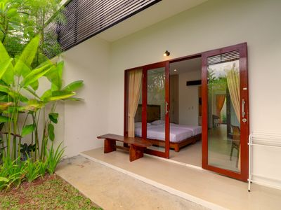 Photo for Sanur Private room 107 with terrace & kitchen