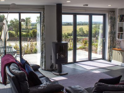Photo for High spec contemporary wood framed house - fantastic views