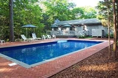 Photo for Contemporary Home; Heated Pool; Walk to bay beaches