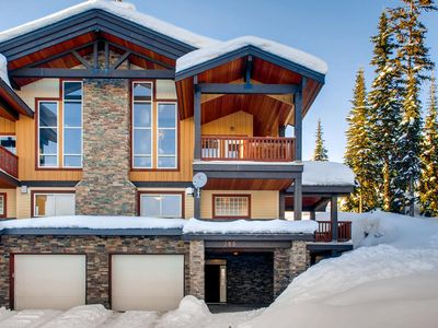 Photo for Luxury 3 bedroom chalet in the heart of Big White which sleeps 10 comfortably