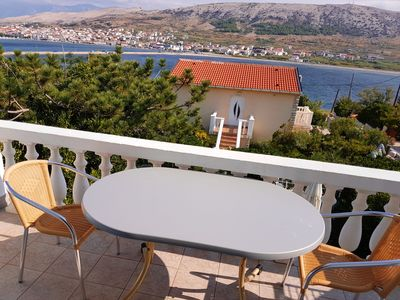 Photo for Homerez last minute deal - Nice apt with sea view and balcony