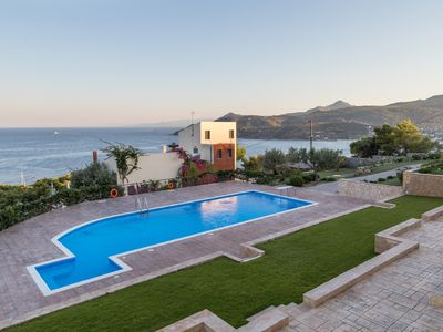 Photo for Aegina Alexandra Villa II with pool, near the sea & Agia Marina seaside village