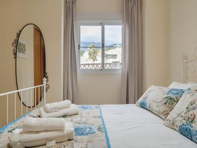 Photo for Beautiful Luxury Gated 2-BR 2-BR Large Balcony, Sea View, Pool, Parking