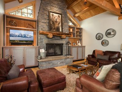 Photo for RMR: 4 BR / 4.5 BA house in Teton Village, Sleeps 10 + Free Activities!