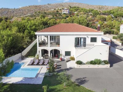 Photo for 5 bedroom Villa, sleeps 10 in Seget Vranjica with Pool, Air Con and WiFi