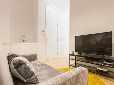 Photo for Memorable Experience II apartment in Baixa/Chiado with WiFi, air conditioning & lift.