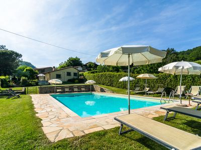 Photo for Spectacular Holiday Home in Dicomano with Swimming Pool