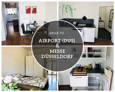 Photo for ⭐️NEW⭐️ apartment with balcony. Near airport (DUS) & Messe Dusseldorf